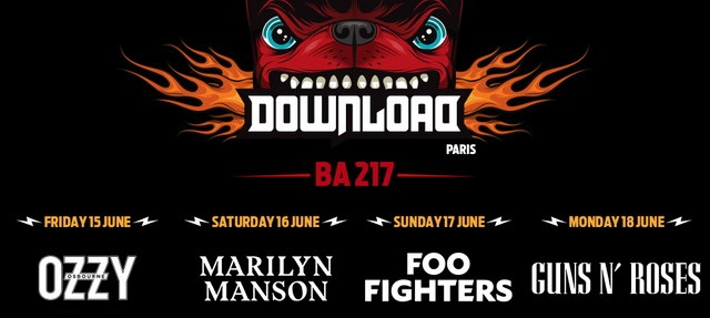 "Фестиваль ""Download 2018"" в Париже"