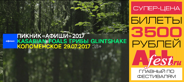"Фестиваль ""Пикник Афиши 2017"""